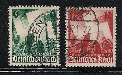 Germany Stamps - Assorted Coll 1930's - Used Good Condition  CV $7.00