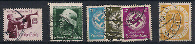 Germany Stamps - Assorted Coll Mostly 1930's - Used Good Condition  CV $20.00