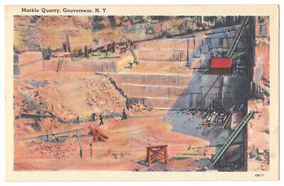 Gouverneur New York c1940's Marble Quarry