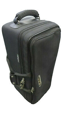 Used Adams Double Trumpet Case by Marcus Bonna in Black Nylon
