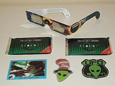 Vintage Et Movie Car Alien 2017 Eclipse America Visor 1947 Roswell Ufo Magnets