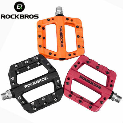 ROCKBROS Mountain Road Bike Bicycle Bearing Pedals Wide Nylon Pedals a Pair NEW