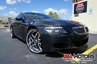 2008 BMW M6 6 Series Coupe ~ Highly Optioned ~ HUGE $109k MSRP 2008 Black BMW M6 6 Series Coupe like 2004 2005 2007 2008 2009 2010 650i M3 M5