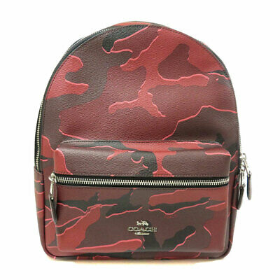 COACH  F31452 Backpack · Daypack Camouflage pattern PVC