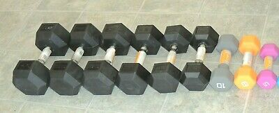 Dumbbell Singles 8 10 15 20 25 30 35 40 Weight Variations ( 5s are Pairs Only)