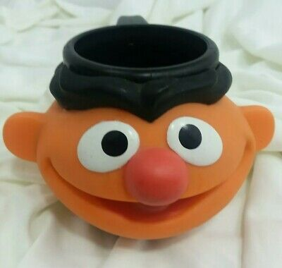 Sesame Street Ernie Face Cup Mug 1995 Applause