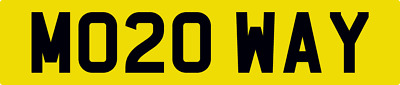 MO20 WAY Motorway. For your brand new vehicle from March 2020.