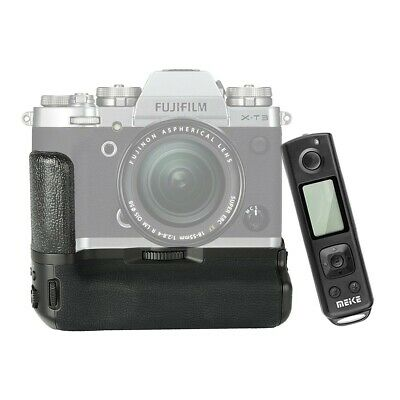 Meike MK-XT3 Pro Vertical Battery Grip with 2.4G Remote for Fujifilm X-T3 Camera