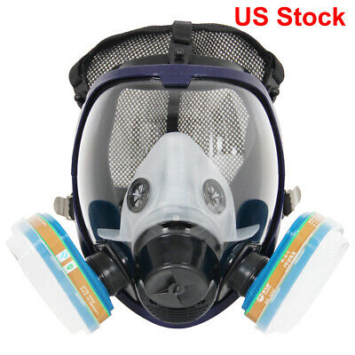 Complete Set  6800 Full Face Respirator Mask For Painting and Organic Vapor