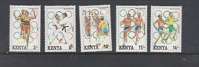 Kenya  1992 Olympics Mnh Set Of Stamps