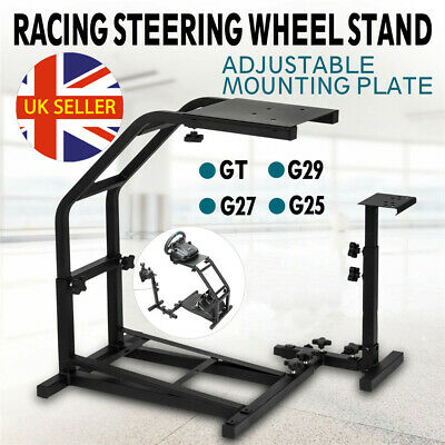 Racing Simulator Steering Wheel Stand Gaming GT Model For G29 G920 T300RS T80 UK