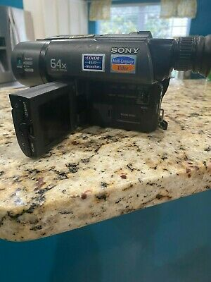 Sony Ccd-Trv15 Video Camera
