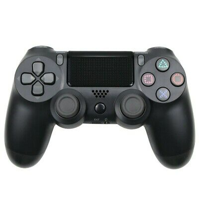 Bluetooth Wireless Controller für PS4 Schwarz Gamepad Playstation 4 Dualshock