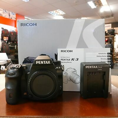 Used Pentax K-3 Camera Body (36,999 actuations) - 1 YEAR GTEE