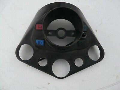 Ural 650cc dashboard with 3 annunciator warning lamps..NOS