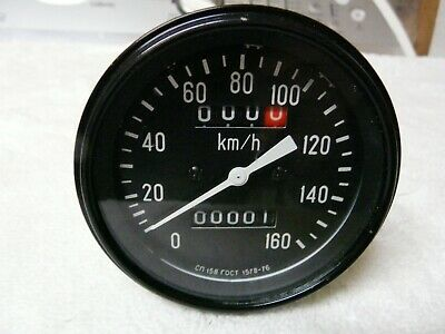 Ural motorcycle Speedometer kilometers only NOS never used..S & H USA $17.00