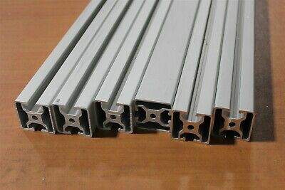 8020 Inc T-Slotted Aluminum Extrusion 40 Series 40-4004 SC Lot 58 (6pcs)