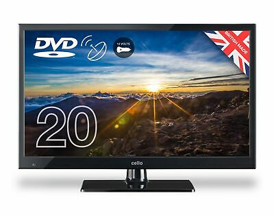 """Cello 20"""" C2020FS Full HD LED TV Freeview T2 HD Satellite Tuner DVD Player (318)"""