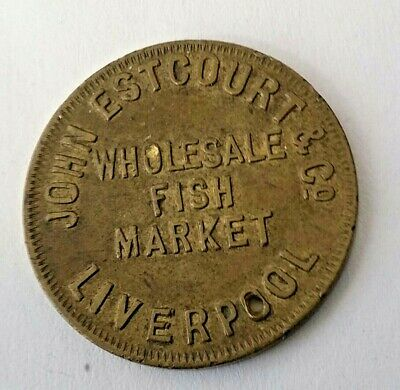 John Estcourt & Co  Wholesale Fish Market Liverpool  2/6