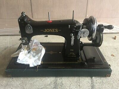 Jones D53 Vintage Sewing machine Hand Cranked