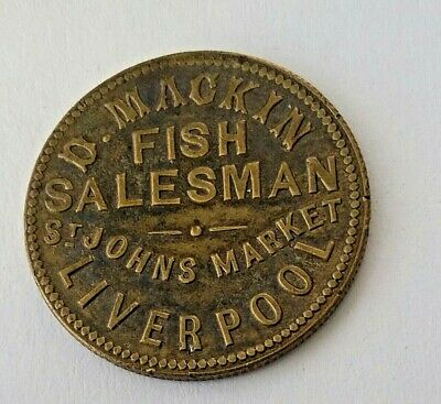 D Mackin Fish Salesman St Johns Market Liverpool  1s