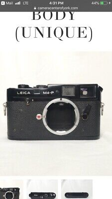 LEICA M4-P BLACK ENAMEL Repaint CAMERA BODY UNIQUE 35mm Rangefinder Camera Body