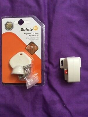 Safety 1st Complete Magnetic Locking System/Door Nob Covers/Cabinet Lock
