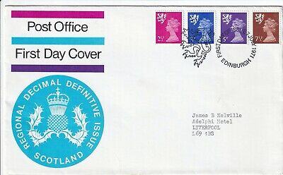GB - 1971 - Regional Decimal Definitive Issue Scotland - First Day Cover 226