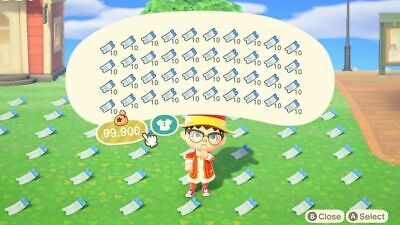 ⚡️ONLINE! INSTANT PICK UP GUARANTEED⚡️400 Nook Miles Tickets NMT Animal Crossing