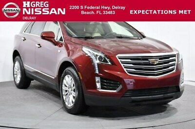2017 Cadillac XT5 FWD 2017 Cadillac XT5 FWD 40,494 Miles Red Passion Tintcoat Sport Utility Gas V6 3.6