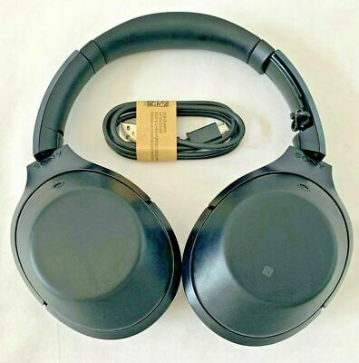 Sony Black Hi-Res Bluetooth Wireless Noise Cancelling Headphones READ