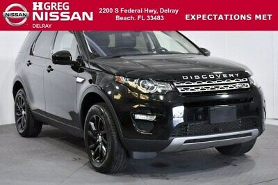 2017 Land Rover Discovery Sport HSE 2017 Land Rover Discovery Sport HSE 32,924 Miles Santorini Black Metallic Sport