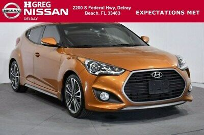 2016 Hyundai Veloster Turbo 2016 Hyundai Veloster Turbo 61,064 Miles Vitamin C 3dr Car Intercooled Turbo Reg