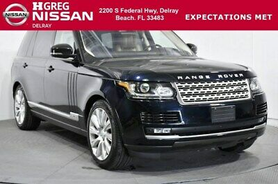 2016 Land Rover Range Rover Supercharged 2016 Land Rover Range Rover Supercharged 33,019 Miles Loire Blue Sport Utility I