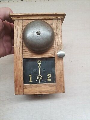 Antique servant call box, Partrick Wilkins annunciator hotel paging bell