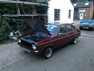 classic ford escort mk2 2.0  zetec itbs  slipper recon type 9 mint shell no rust