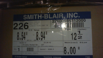 Smith Blair 22600086312000 Full Circle Repair Clamp - New in Box