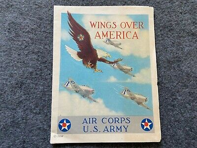 1940 Air Corps U.S. Army Brochure