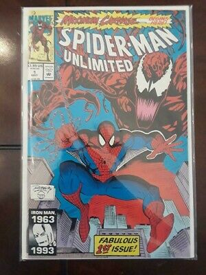 Spider-Man Unlimited #1 (May 1993, Marvel) 1st appearance of Shriek