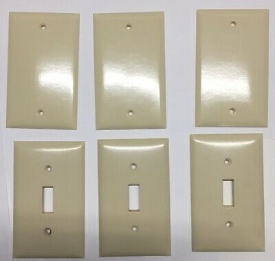 Smoothie Biege Lightswitch Outlet Covers Lot