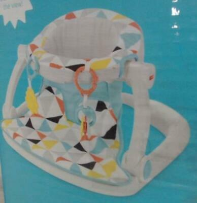 Fisher-Price DRF51 Sit-Me-Up Floor Seat Windmill $50