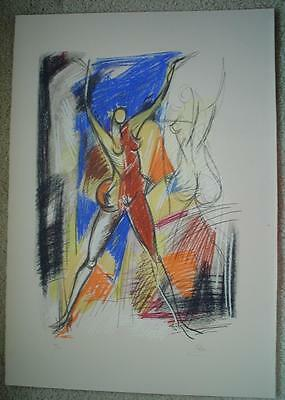 ISAAC KAHN - Original Lithograph - Signed & Numbered