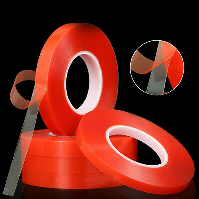 Transparent double-sided tape Super Sticky Adhesive Tape width 2-10mm length 25m