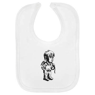 'Boy With Rope' Baby Bib  (BI00019125)