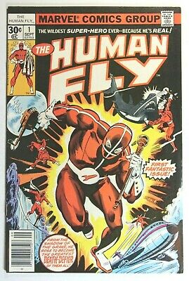 The Human Fly #1 * 1St Appearance & Origin Of The 2Nd Human Fly * 1977 Marvel
