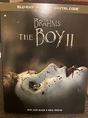 Brahms: The Boy II (Blu-ray+DVD+ Slipcover 2020 New Open Box