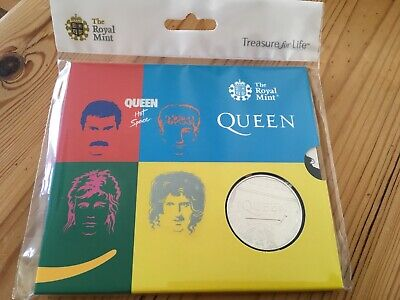 2020 QUEEN HOT SPACE £5 FIVE POUND COIN BU Royal Mint Sealed  🎁❤️️ IDEAL GIFT