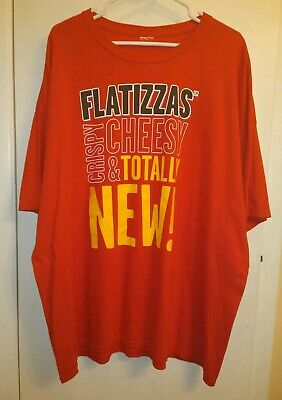 Subway Flatizza Crispy Cheesy and Totally New Promo Employee Graphic Tee