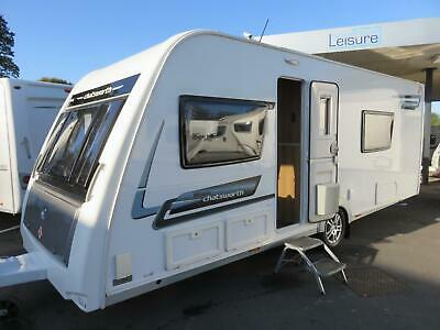 2014 Elddis Chatsworth 574 4 Berth Touring Caravan With Fixed Single Beds.......
