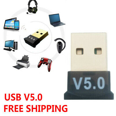 USB Bluetooth 5.0 Wireless Audio Music Stereo Adapter Receiver for TV PC use